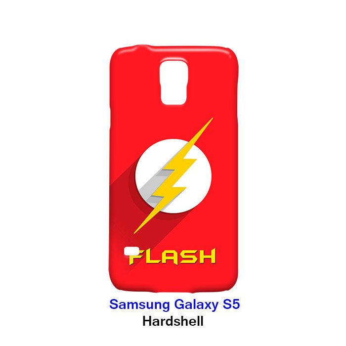Flash Superhero Samsung Galaxy S5 Hardshell Case