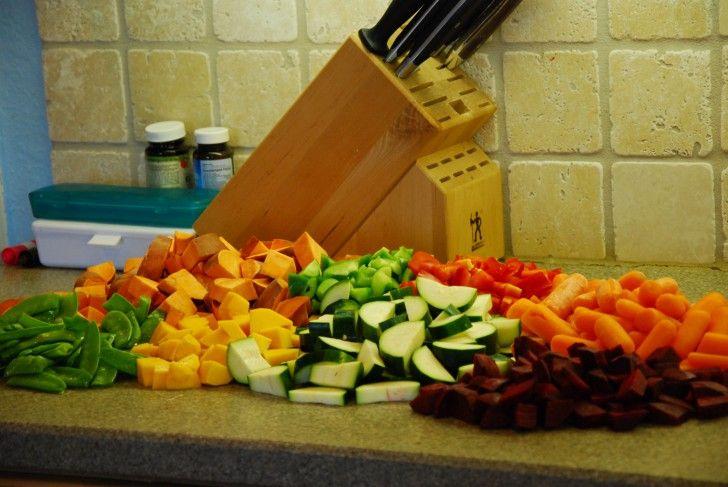 Freezer cooking -- BBQ, Curry Chicken