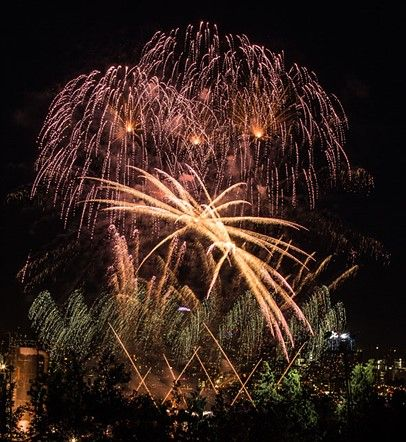 Photographing fireworks with John Cornicello
