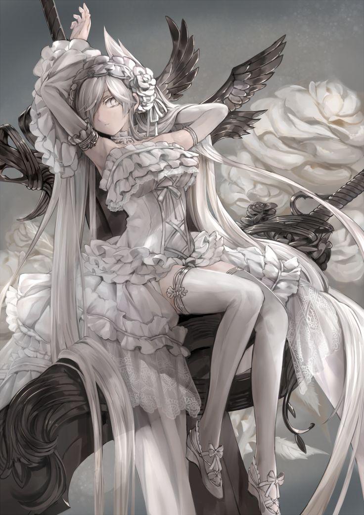 mizu(Pixiv)... | Kai Fine Art || For more great pins be sure to check out www.pinterest.com/sweetreminisce7/ || Keywords: anime japan digital art illustration illustrations lady ladies girls girl woman women beautiful ||