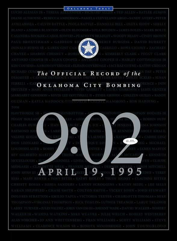 Oklahoma City Bombing April 19, 1995