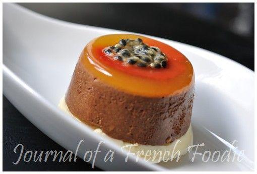 Thermomix - Parfait Chocolate and passionfruit - Parfait de chocolate y fruta de la pasión con TMX
