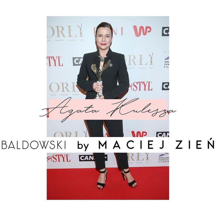 """Polubienia: 49, komentarze: 2 – Baldowski (@baldowskiwb) na Instagramie: """"Agata Kulesza na rozdanie Polskich Nagród Filmowych Orły 2017 wybrała sandałki na szpilce z…"""""""