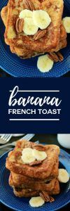 Banana French Toast Recipe on One Sweet Appetite