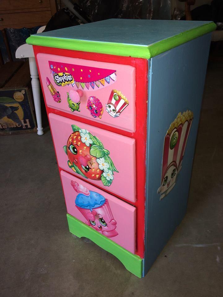 Shopkins Diy Nightstand Storage Diy Kids Furniture