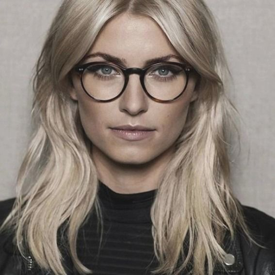 Frisur Mittellang Blond Brille Neu Frisuren Mittellang