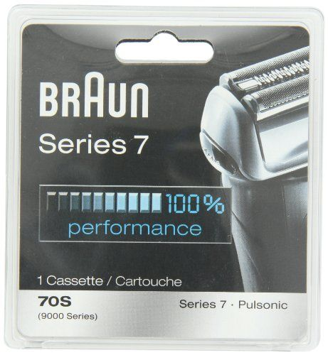 Braun Series 7 Combi 70S Cassette Replacement Pack (Formerly 9000 Pulsonic) | Multicityhealth.com  List Price: $43.99 Discount: $13.49 Sale Price: $30.50