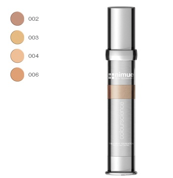Treatment Foundation. A new generation liquid make up that feels like a second skin. This innovative formula has a particular balance of raw materials resulting in a foundation that is extremely thin and lightweight yet providing a high level of coverage. A natural finish suitable for all skin types. 30 ml. Nimue Skin Technology.