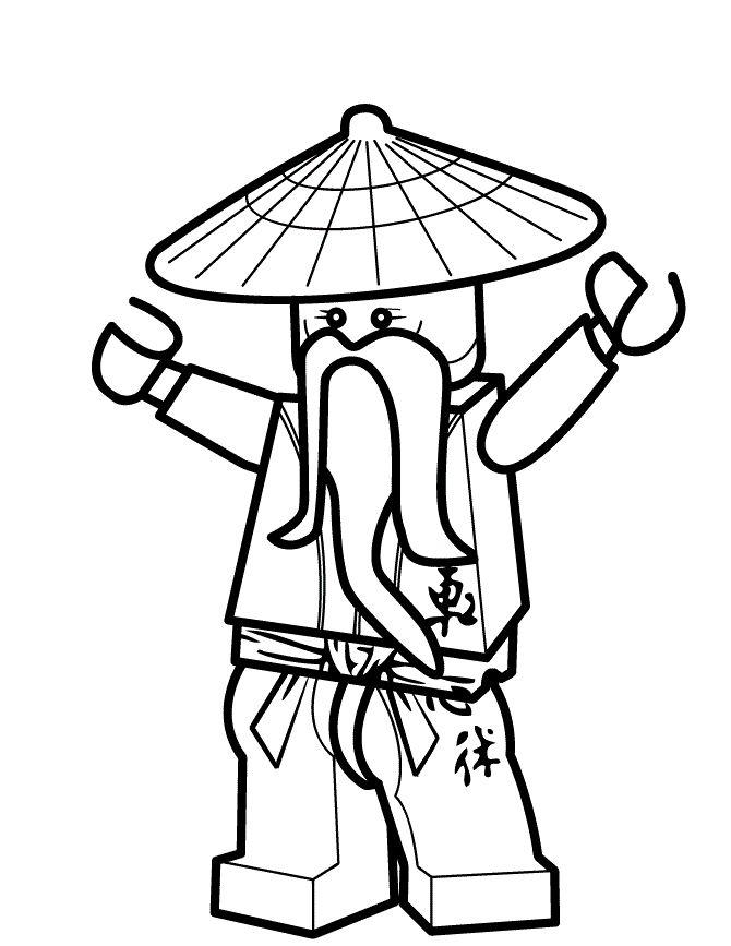 картинки карандашом лего ниндзяго она