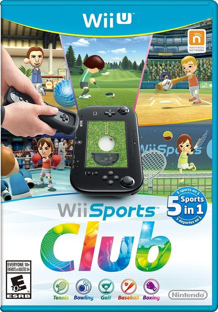 Wii Sports Club [Wii U Game]