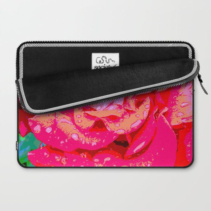 Rose Laptop Sleeve by LisaMc | Society6