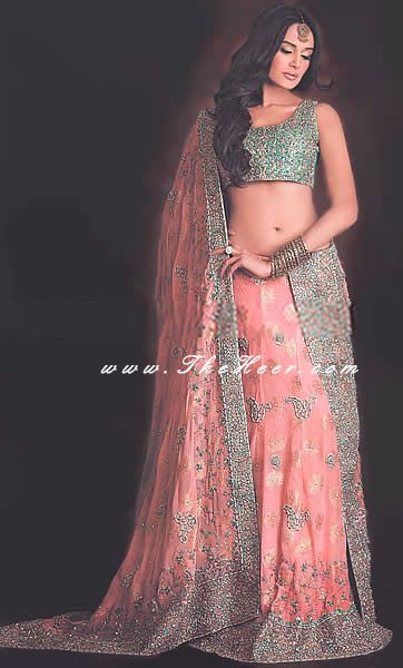 DISLIKE - this is a lehenga, but it thought you might like the color combo. Or is this too pastel?
