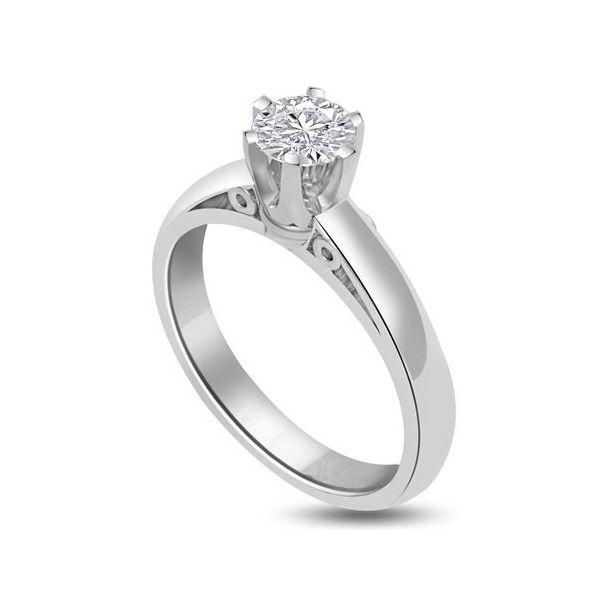 ANELLO DI FIDANZAMENTO SOLITARIO CON DIAMANTE 18CT ORO BIANCO   Solitario con diamante taglio brillante montato in 6 griffe. L`anello è disponibile in 18ct oro bianco, 18ct oro giallo e in platino. Il peso dei carati del diamante può variare da 0.20ct a 0.60ct ed il colore da F ad I e la purezza da VS1 ad SI1. L`anello è accompagnato dal certificato del diamante. Perfetto per fidanzamento, matrimonio o anniversario e come regalo nel giorno di San Valentino.
