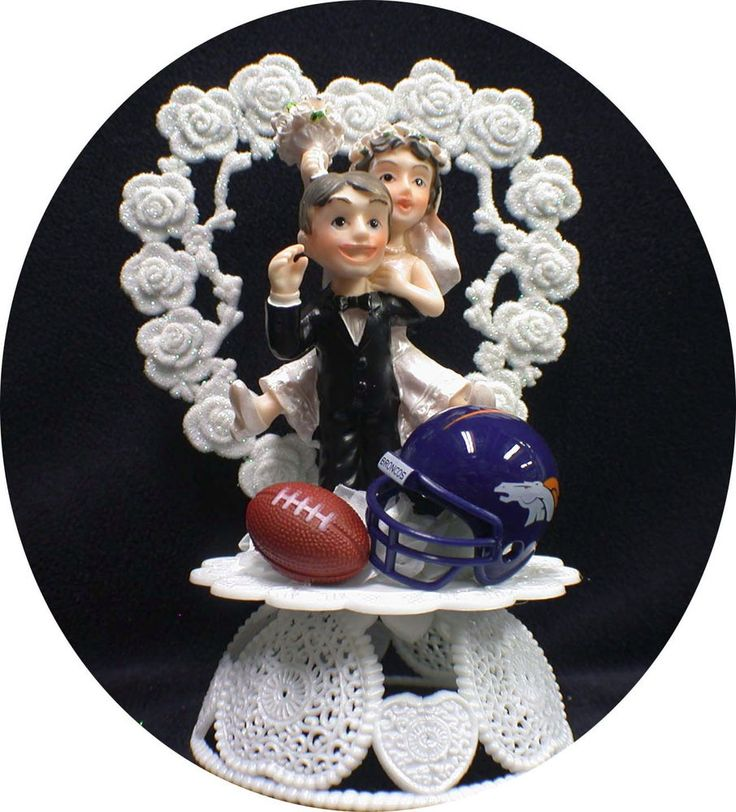 wedding cake toppers denver co san francisco 49ers football wedding cake topper broncos 26450