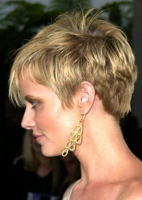 very short hairstyles for women | Very short haircut can make you look so cool! So if you want to give ...