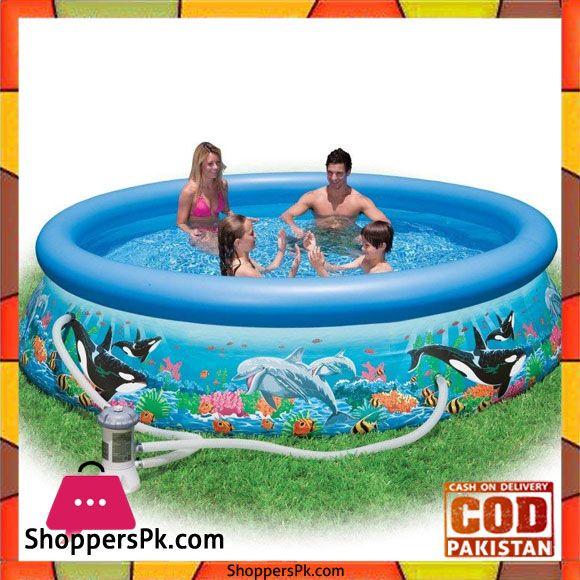 Buy Intex Ocean Reef Easy Swimming Pool Cartridge Filter 2 006 L H 305 X 76 Cm 28126 At Best Price In Pakistan Pool Swimming Pools Swimming