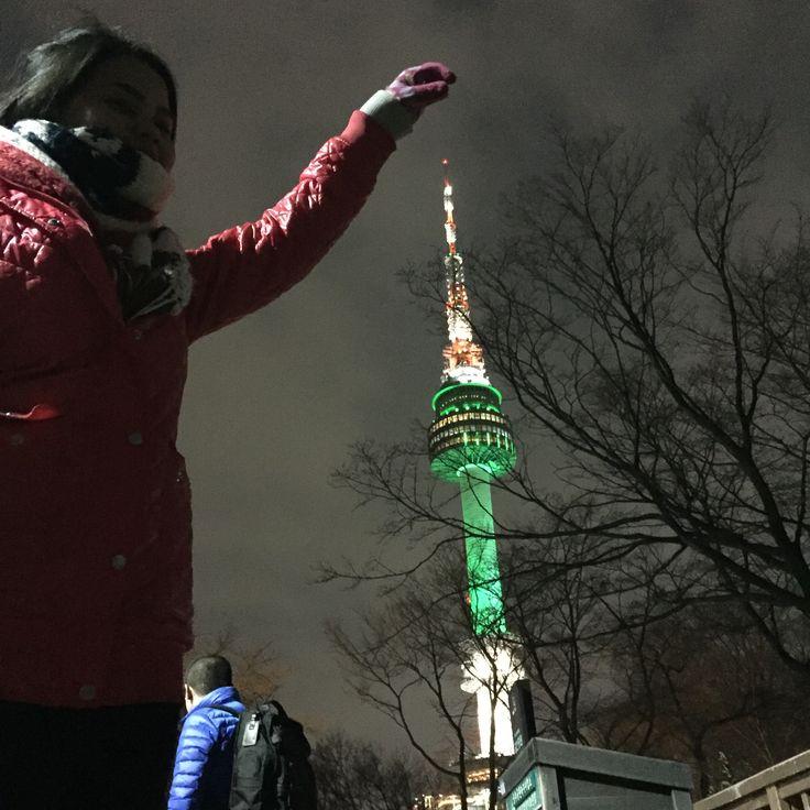 Seoul Tower , Korea in 2016