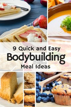 If you are fed up of plain chicken and rice all the time then you need to check out these quick and easy bodybuilding meal ideas.  #bodybuilding #bodybuilder #fitness #protein #recipes