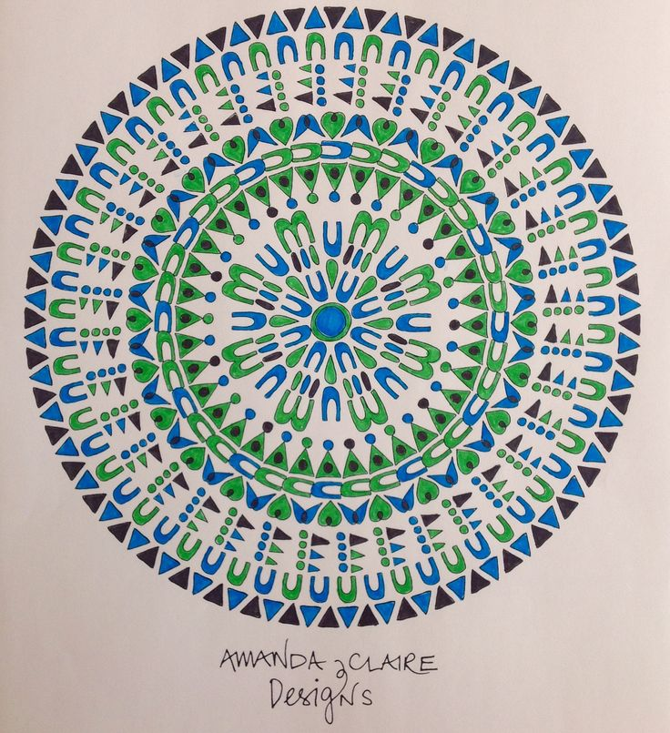 16 best Colorea Mandalas con Chocolate Illustration images on ...