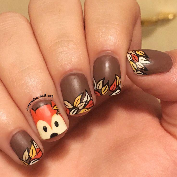 Fox Nail Designs: 25+ Trending Fox Nails Ideas On Pinterest