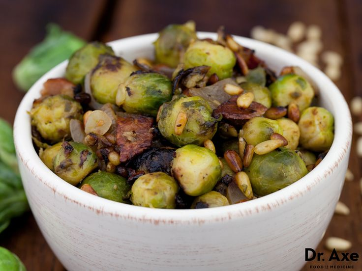 This Brussels Sprouts with Turkey Bacon recipe is so packed with protein and veggies, it's an all-in-one meal for 4. (By the way, if you're not a believer yet -- sauteed, caramelized Brussels sprouts are awesome.)