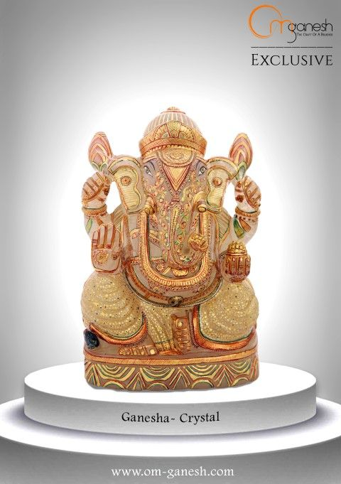 Every idol of Ganesha is crafted to bring positive energy & a peaceful aura to your home.#Every #Idol #Ganesha #Crafted #Bring #Positive #Energy #Peaceful #Aura #Home #OmGaneshCrafts