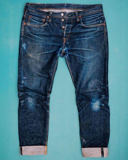 Edwin #denim #jeans #blue #indigo #menswear #fashion #selvedge