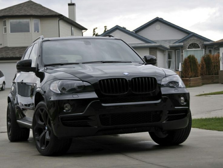 BMW X3 murdered out. Goals.