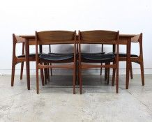 Danish 1960s Dining Suite - The Vintage Shop