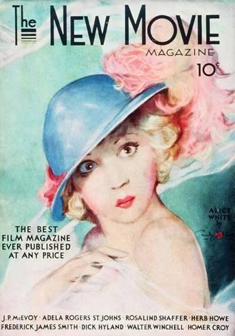 alice white movie magazine covers | White, Alice - The New Movie Magazine Cover 1930's ...