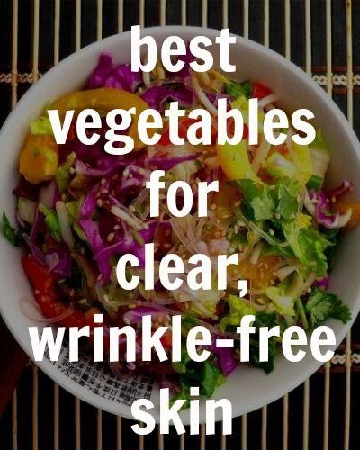 best vegetables for your skin