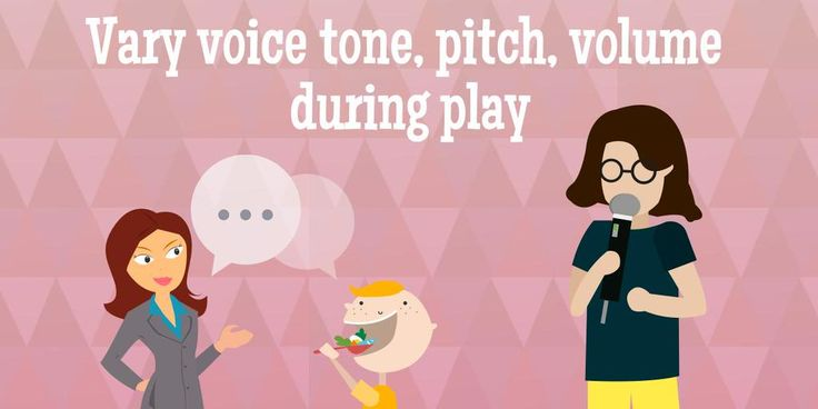 #ToysforAll tip: Vary your voice tone, pitch and volume to keep kids engaged during playtime.