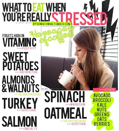 What to eat when you're stressed! Reach for these options instead of grabbing that chocolate bar!