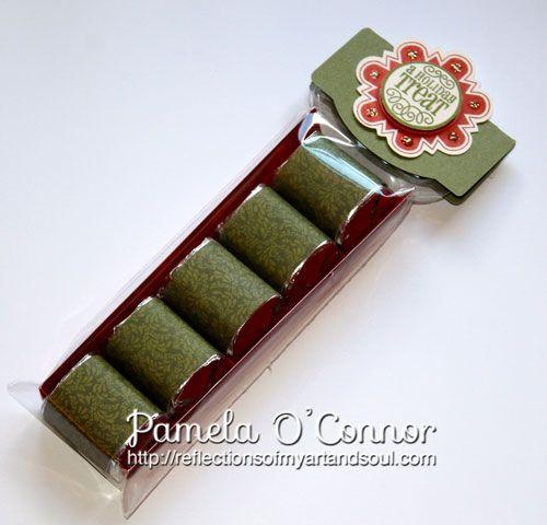 Pamela O'Connor Hershey Nugget treat holder
