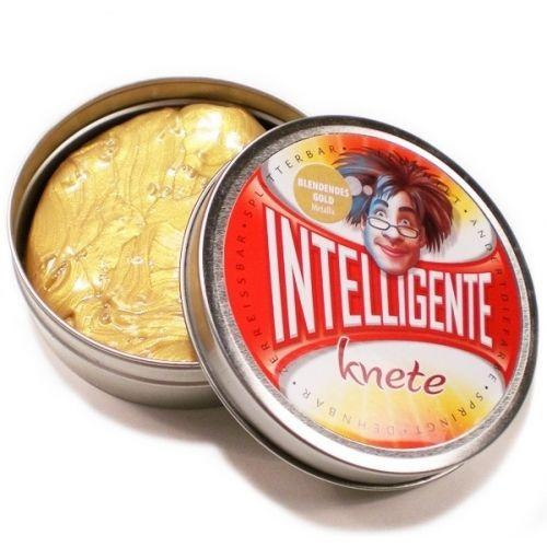 Intelligens Gyurma - fénylő arany