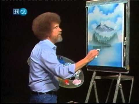 Bob Ross - The Joy of Painting - Mystic Mountain (Season 20 Episode 1)