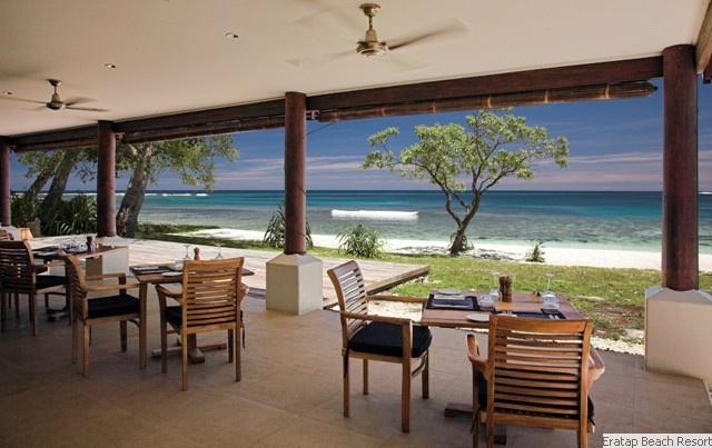 Another day in paradise at Eratap Beach Resort, Vanuatu  www.islandescapes.com.au