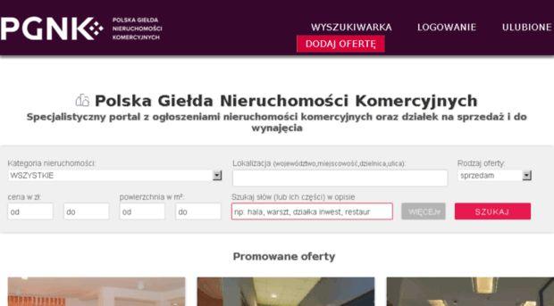 polska giełda nieruchomości komercyjnych - Szukaj w Google