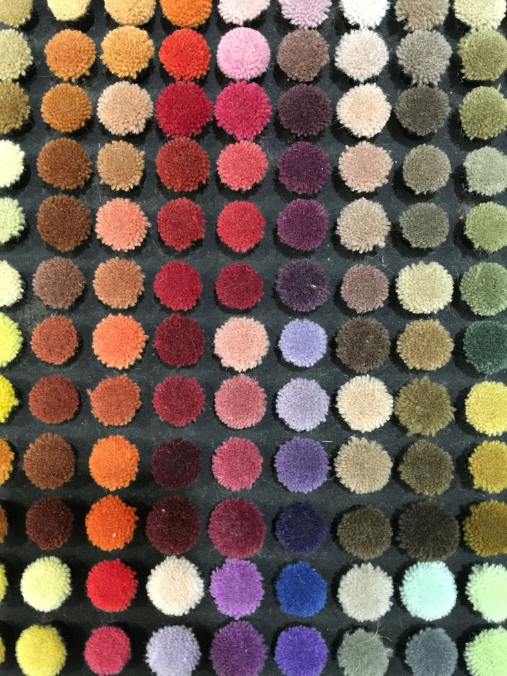 Colour Love. Selecting colours for bespoke rugs I'm designing for projects. ScX