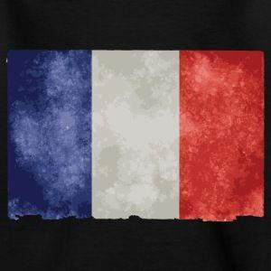 t shirt blanc enfants drapeau français bleu blanc rouge - Tee shirt Enfant