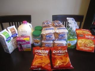 Weekly Grocery Trip ~ April 21, 2013 #1  Total Regular Price $85.47  Total Paid $42.87 (50% Savings)