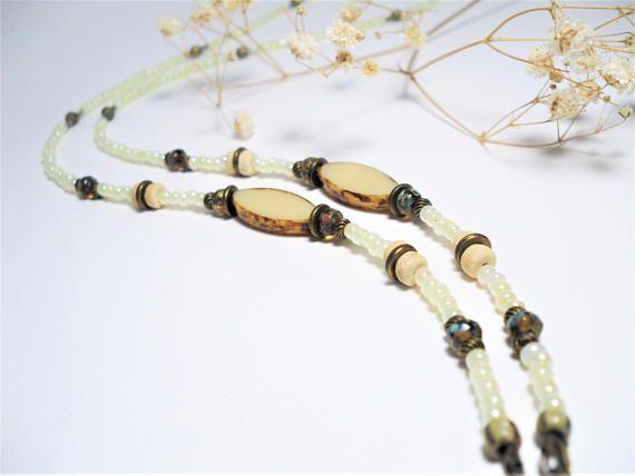 Bohemian Beaded Eyeglasses Chain Fashion Forward Eyewear