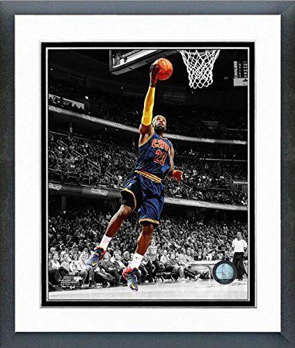 LeBron James Cleveland Cavaliers 2015 NBA Spotlight Photo...