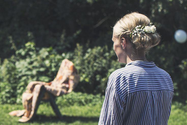 WEDDING HAIR UPDO - bridal hair - flowers - braids - preparation - inspiration - roses