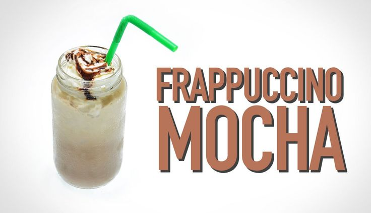 Como fazer o Frappuccino Mocha do Starbucks