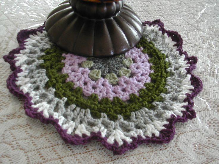 Crochet Mandala in memory of ACREATIVEBEING
