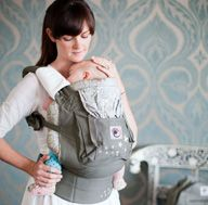 The most comfortable child carrier I own.  I can still comfortably shlep my 4 year old in it.  They make a light weight one for warm weather: Babies, Gifts Ideas, Joy, Ergobaby, Ergo Baby Carriers, Galaxies Grey, Ergobabi Originals, Ergobabi Carrier, Baby Stuff