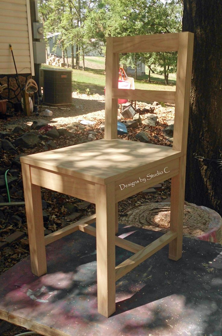 Easy wooden chair designs - Free Furniture Plans To Build A Desk Chair I Really Like Building Chairs They Are So Easy Plus I Can Use Quite A Few Of The Scraps Of Lumber I Ve Been