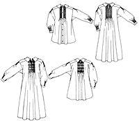 Folkwear Pattern #221 -  English smock