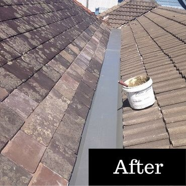 Slate Roof Repairs - Slate Roofing Sydney - after http://slateroofingsydney.com.au/slate-roof-repairs/